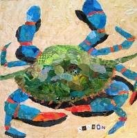 Crab on Beige