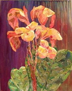 Orange Flower, by Sharon Krulak